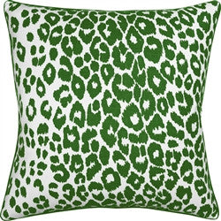Iconic Green Leopard