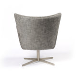 Jacob Swivel Chair in Grey