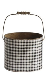 Medium Metal Bucket