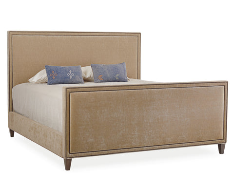 Square Style Headboard and Footboard Bed