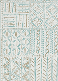Turquoise Cloisters Wallpaper