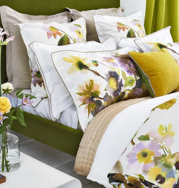 Palace flower birch bedding