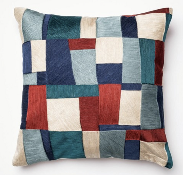Modern Patchwork Pillow
