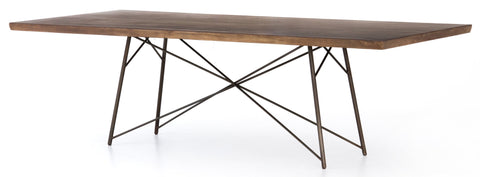Natural Saman Dining Table