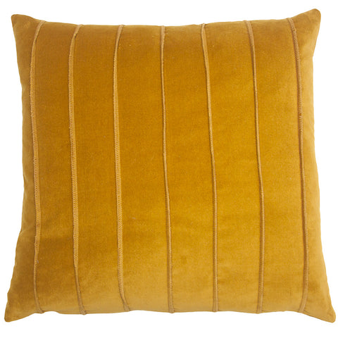 Yellow Velvet Bond Pillow