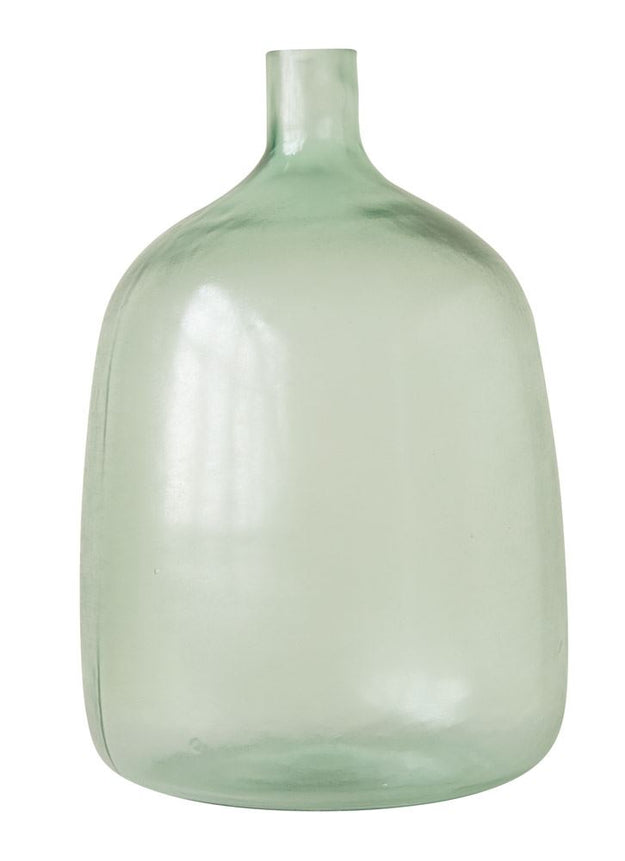 Sea Glass Green Glass Bottle