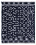 Indigo Diamond Area Rug