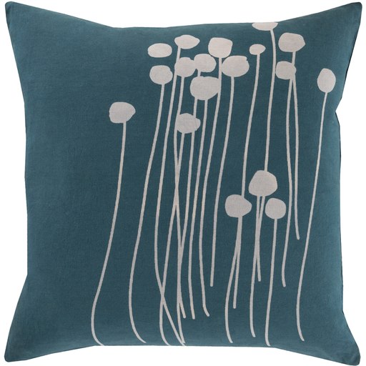 Dark Green Abi Pillow