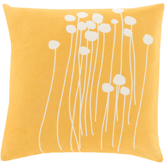 Bright Yellow Abi Pillow