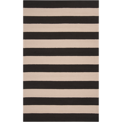 Rain Black/Beige Indoor/Outdoor Rug