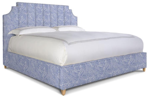 Victoria Bed in Blue