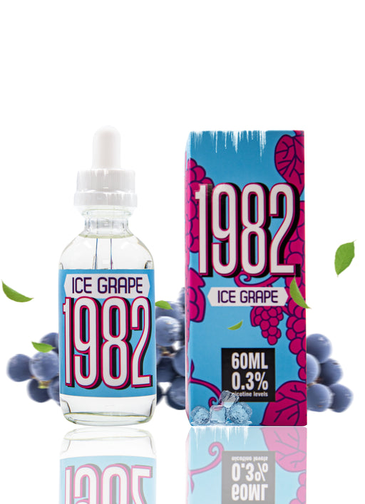 LOVE VAPE - 1982 ICED GRAPE E-LIQUID