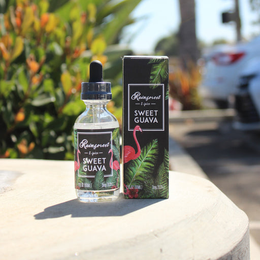 TVS team -Rainforest eliquid -sweet guava