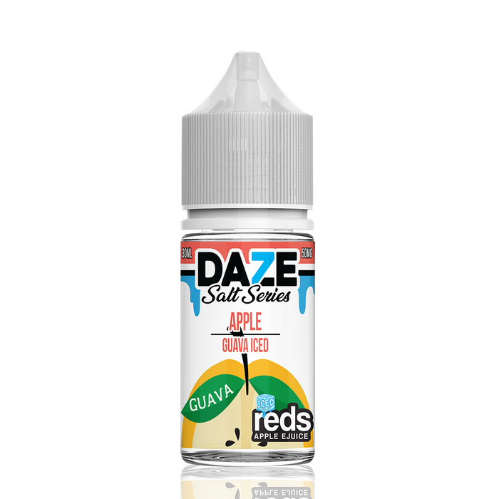 7 DAZE - REDS APPLE SALT SERIES -ICED GUAVA 30ML