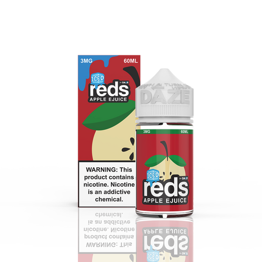 7 DAZE - ICED REDS APPLE E-LIQUID