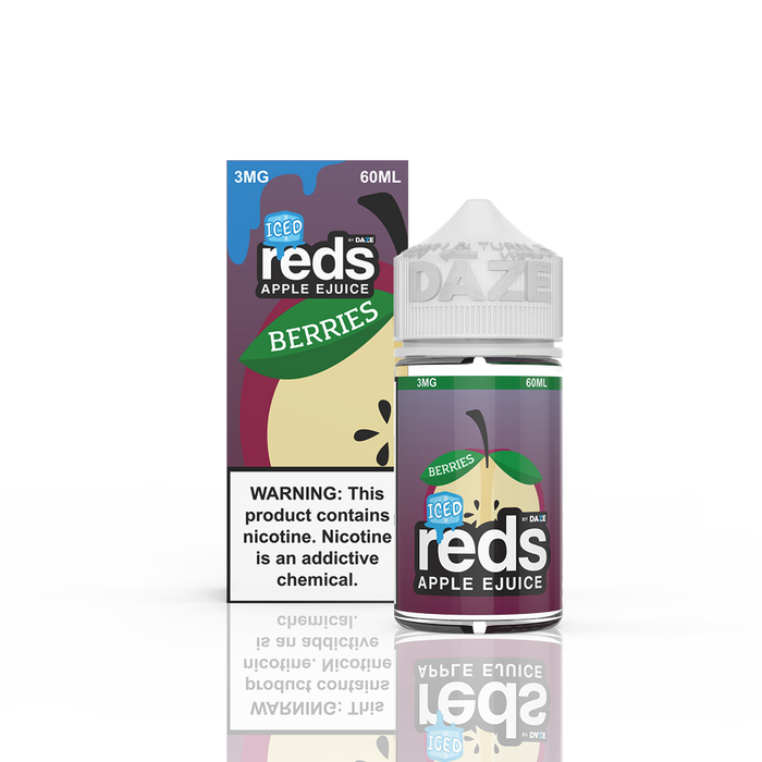 7 DAZE - ICED BERRIES REDS APPLE E-LIQUID