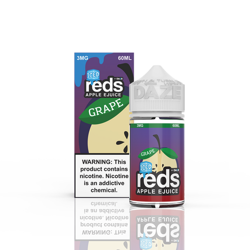 7 DAZE - ICED GRAPE REDS APPLE E-LIQUID