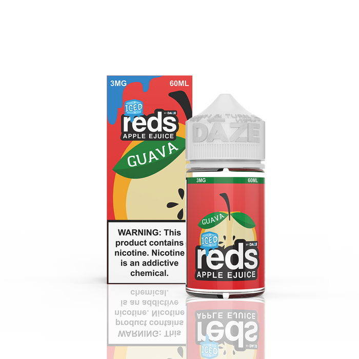 7 DAZE - REDS APPLE E-LIQUID -ICED GUAVA