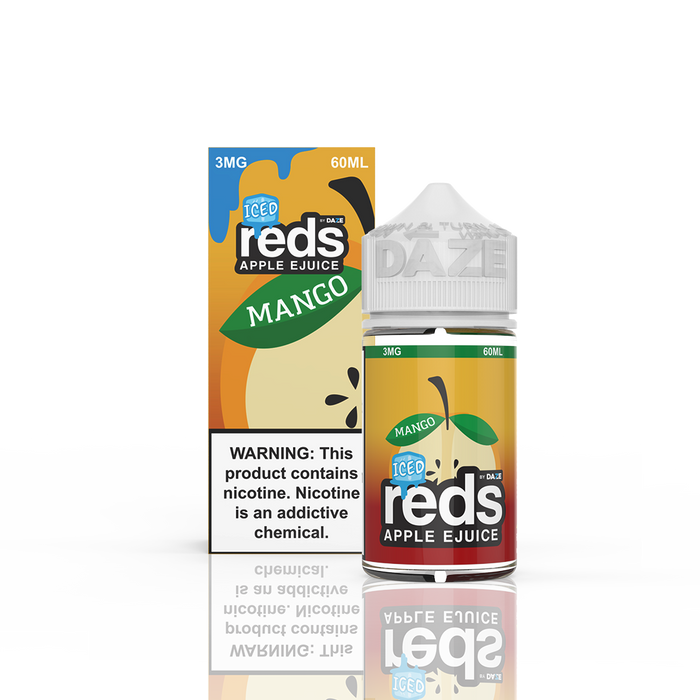 7 DAZE - MANGO ICED REDS APPLE E-LIQUID