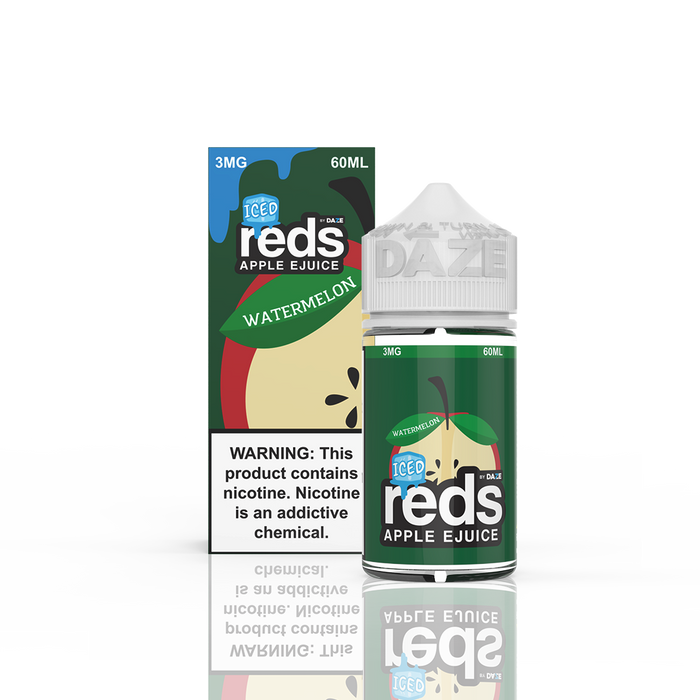 7 DAZE - ICED WATERMELON REDS APPLE E-LIQUID