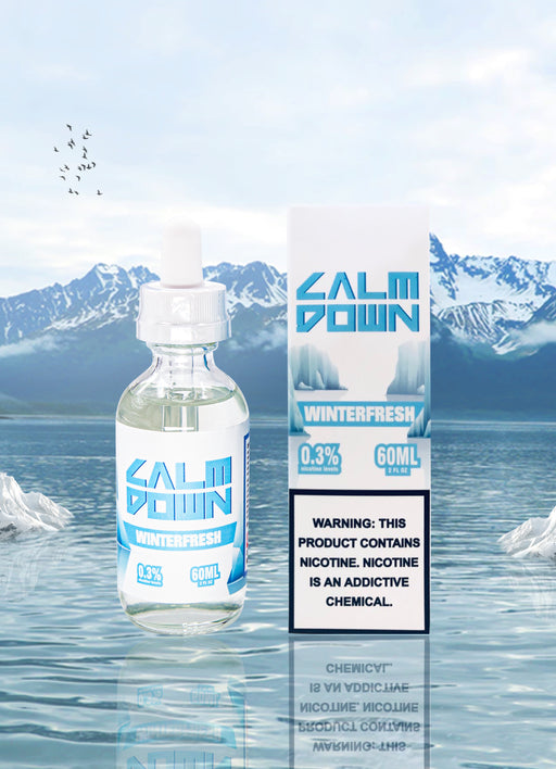 LOVE VAPE - CALM DOWN MENTHOL E-LIQUID - WINTERFRESH