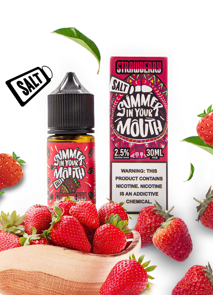 LOVE VAPE - SIYM SALT E-LIQUID - STRAWBERRY