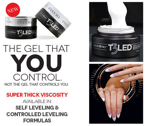 Cuccio T3 LED UV Gel Extension