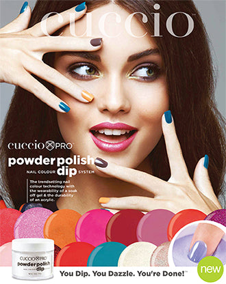 Cuccio Pro Powder Polish Nail Colour Dip System