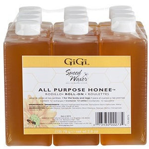 GiGi All Purpose Honee Roll-On Refill (2.8 oz Btls) ( Soft Wax )