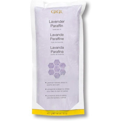 GiGi Lavender Paraffin 1 lb ( Paraffin Wax For Hands And Legs )