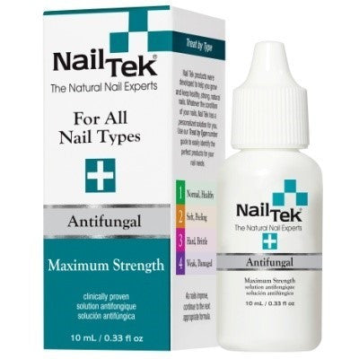 Nail Tek Maximum Strength Anti Fungal 0.33 fl oz - Treats and Kill All Type of Fungus