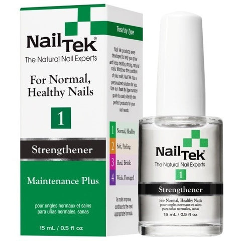 Nail Tek Maintenance Plus 1 0.5 fl oz - For Normal, Healthy Nails