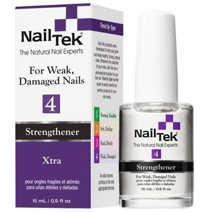 Nail Tek Xtra 4 0.5 fl oz – For Weak, Damaged Nails