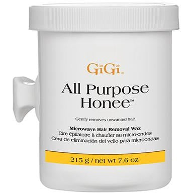 GiGi All Purpose Honee Microwave Formula 8 oz ( Microwavable Soft Wax )