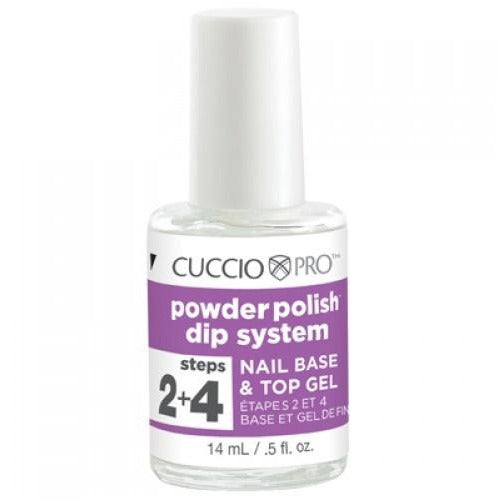 POWDER POLISH - NAIL BASE & TOP GEL 0.5 FL OZ (CPro-5502)