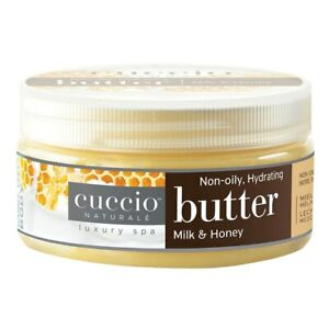 Cuccio Milk & Honey Butter Blend 8 oz ( Hand, Body and Foot Cream )