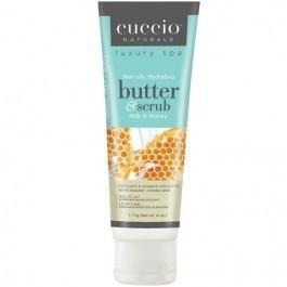 Cuccio Milk & Honey Butter & Scrub Tube 4 oz ( Hand Scrub )