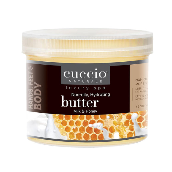 Cuccio Milk & Honey Butter Blend 26 oz ( Hand, Body and Foot Cream )