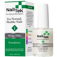 Nail Tek Foundation 1 0.5 fl oz – Ridge Filler for Normal, Healthy Nails