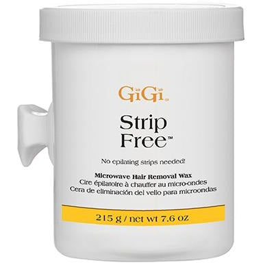 GiGi Strip Free Microwave Formula 8 oz ( Microwavable Hard Wax )