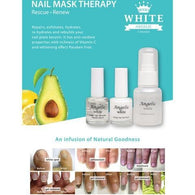 Angelic White Nail Mask Therapy