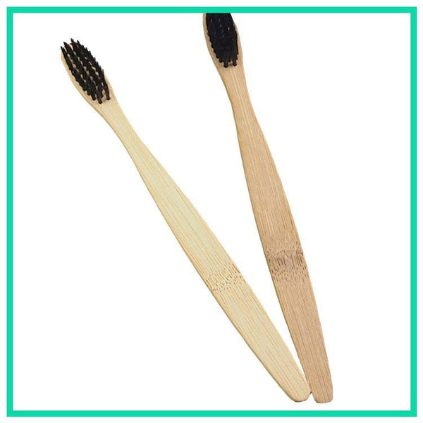 Charcle Soft Bamboo Wooden Toothbrush