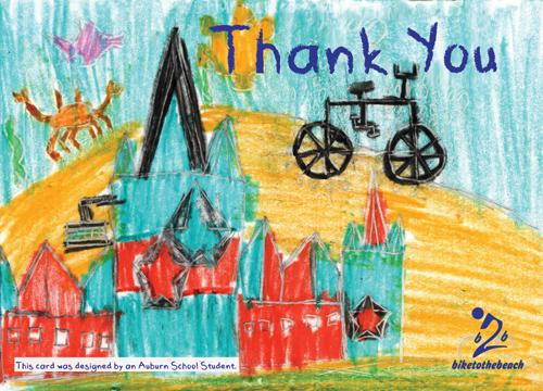 Thank You Cards Designed By Auburn School Students