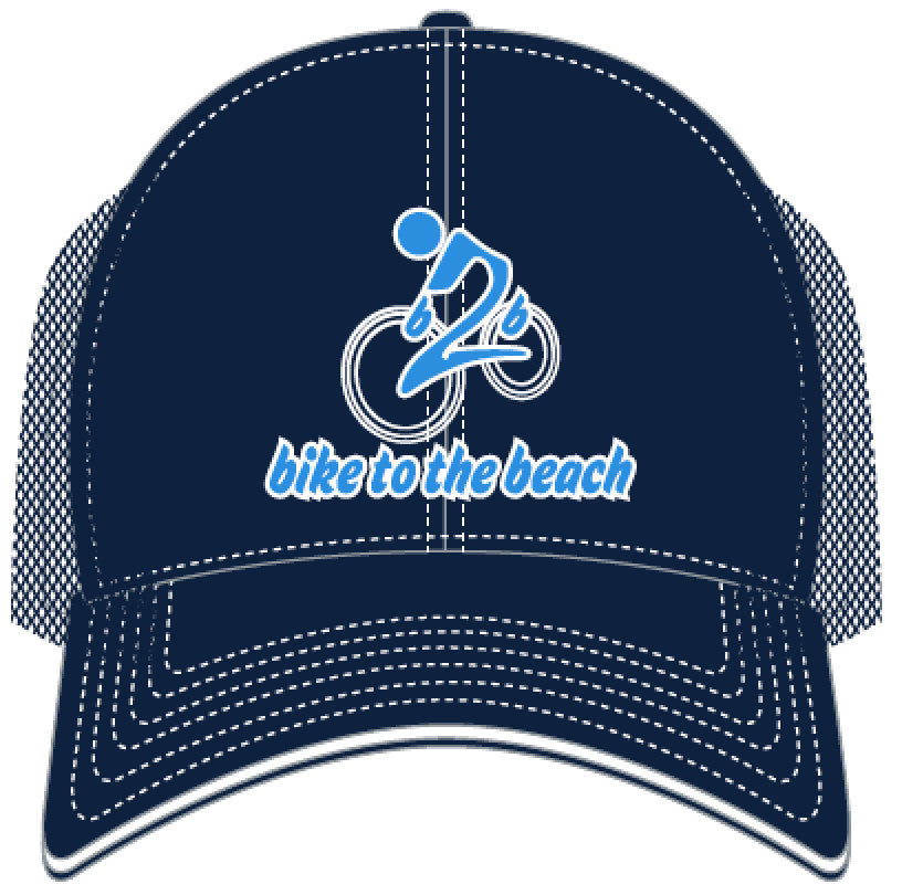 Limited Edition Blue and White Mesh Trucker Hat