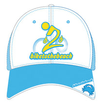 Limited Edition Light Blue Mesh Trucker Hat