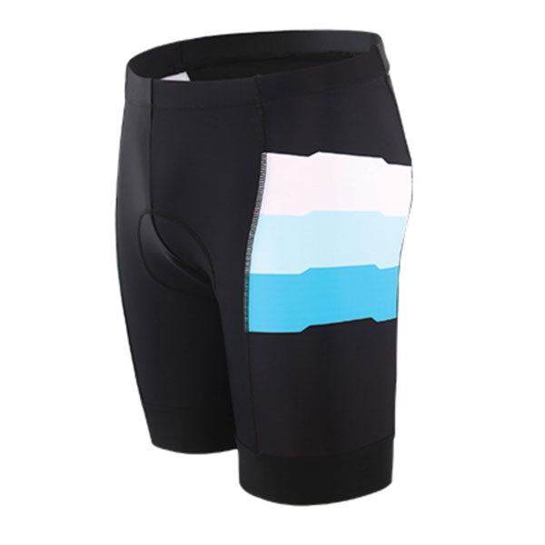 Bike to the Beach Classic Black & Blue Shorts