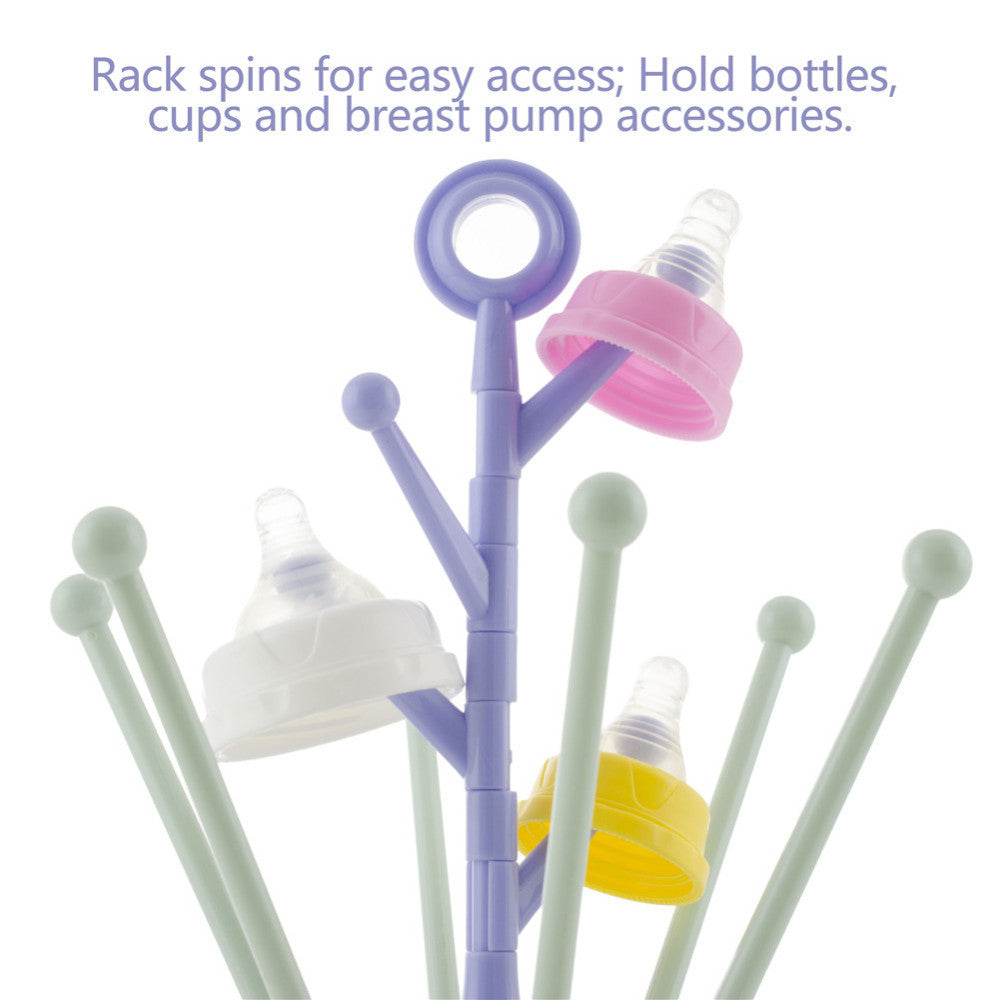 2017 New Safe Baby Bottle Drying Rack