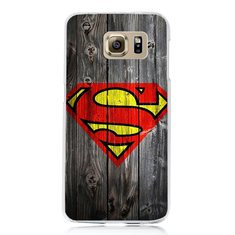 Avengers Superman Hard PC Plastic Cell Phone Case Cover for Samsung Galaxy S6 S7 S7EDGE Protector