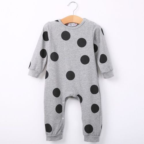 Organic cotton Baby Long Sleeve Rompers Playsuit