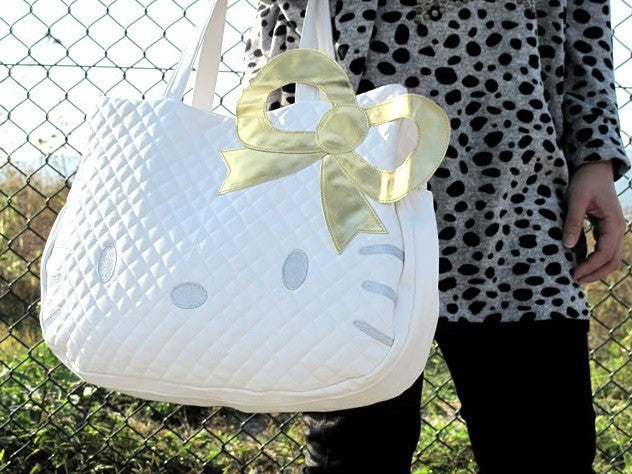 Hello Kitty Leather-like Tote Purse /Handbags